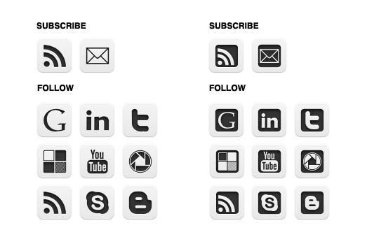 blog buttons choice