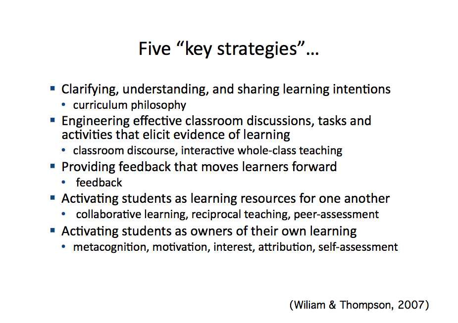 Five Key Strategies