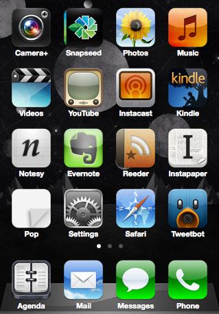 iPhone Home Screen 12.04.12
